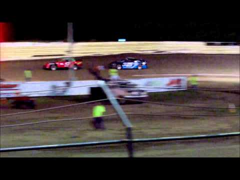 Creek County Speedway - Factory Stock Main - 4/25/15