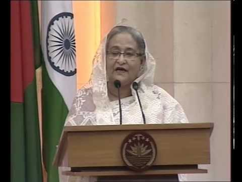PM Modi & Bangladesh PM Sheikh Hasina at the Signing of Agreements & Joint Press Statements