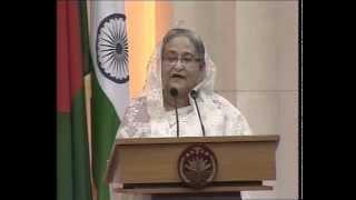 PM Modi & Bangladesh PM Sheikh Hasina at the Signing of Agreements & Joint Press Statements