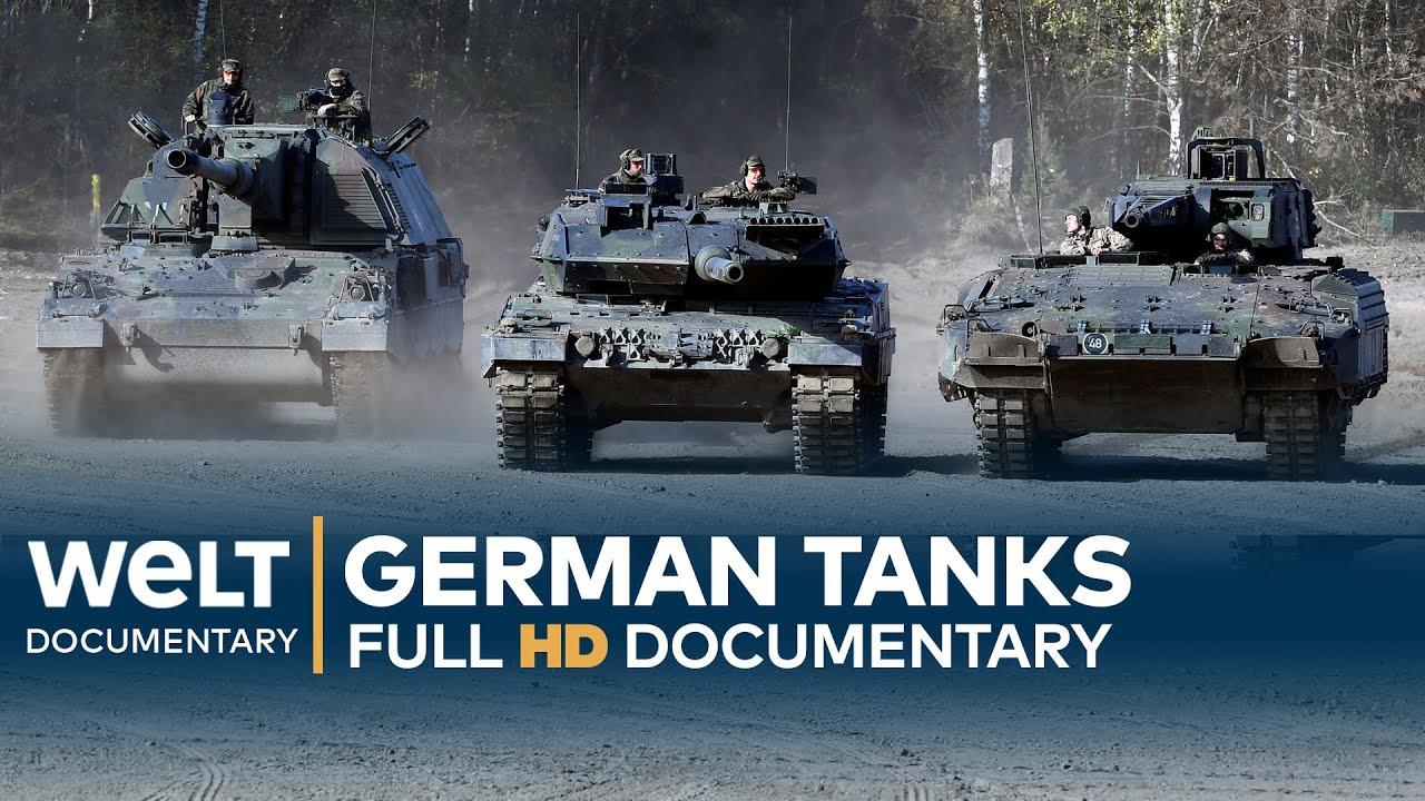 GERMAN TANKS - Technology, Development & History | Full Documentary