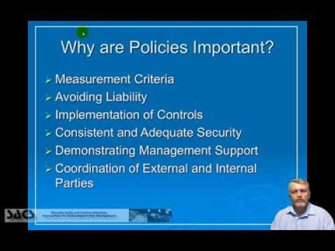 Information Security Policies - Development