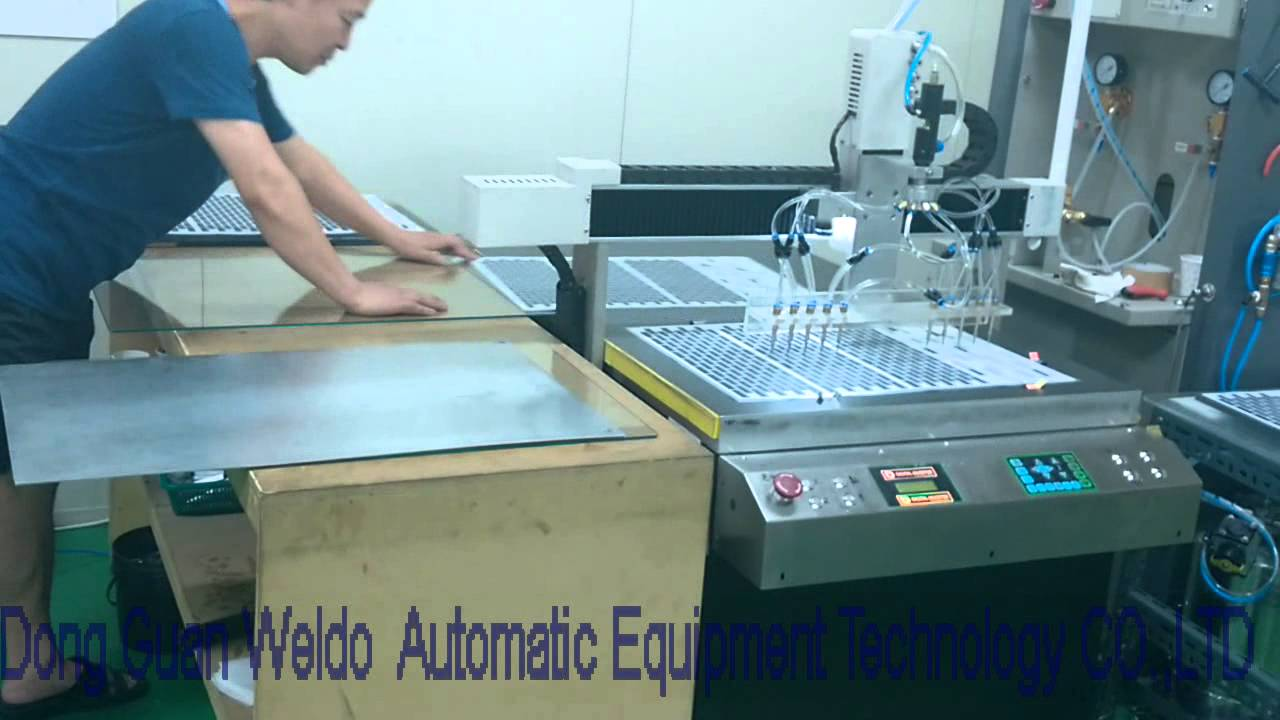 Doming Technology Two Components Epoxy Metering Amp Mixing