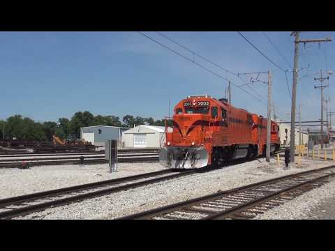 Northern Indiana Rail Action Part 1 7/3/2017