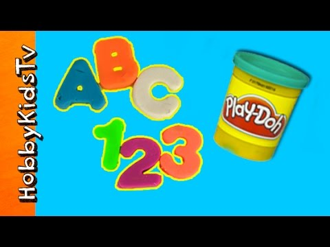 Play doh abc 123 letters numbers arts n crafts fun for Crafts for kids com