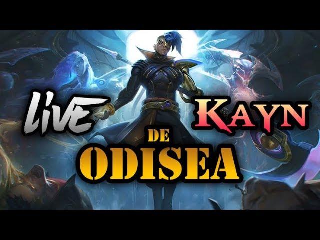 Live Kayn de Odisea - SKIN LEGENDARIA - El Archienemigo