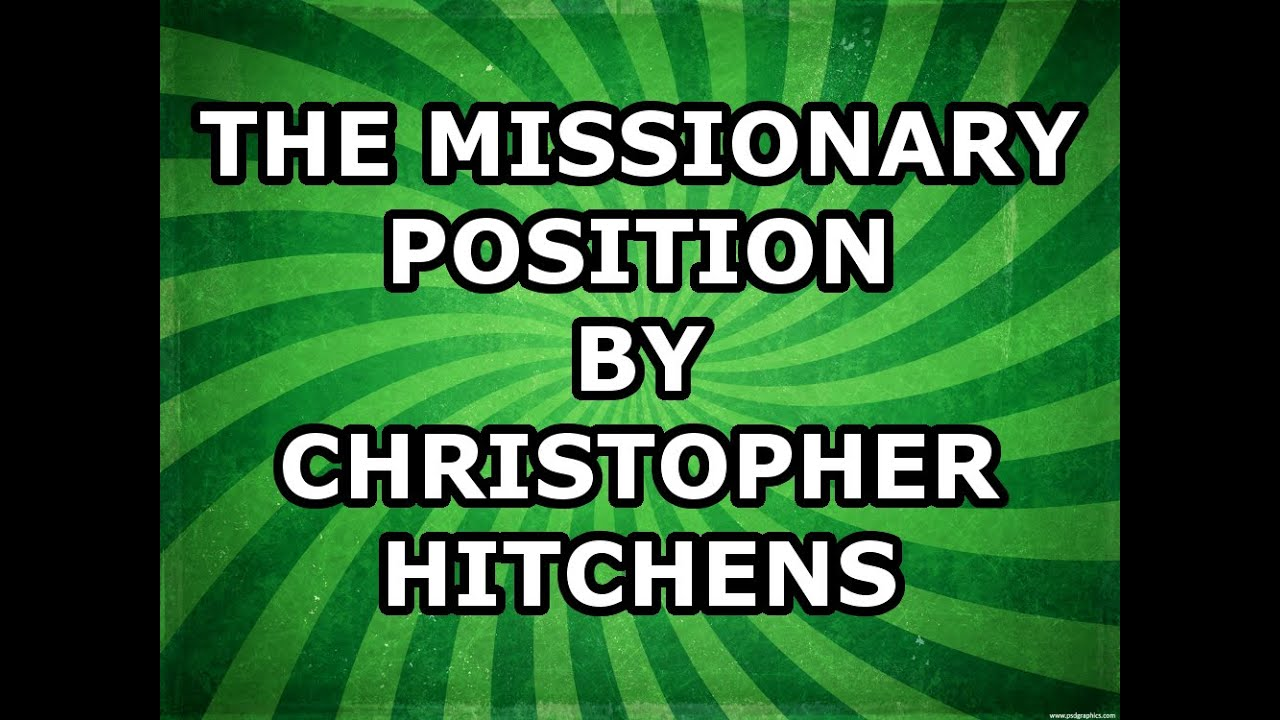 Christopher missionary position
