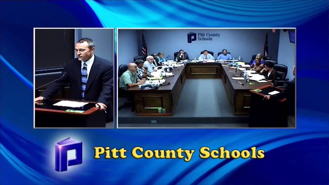 Highlights from Pitt County School Board meeting, June 02, 2014