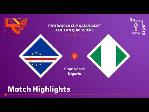 Download Cape Verde v Nigeria | FIFA World Cup Qatar 2022 Qualifier | Match Highlights