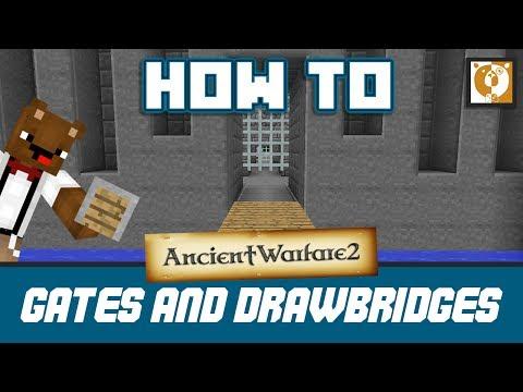 Gates And Drawbridges  - Ancient Warfare 2 [Minecraft 1.7.10] - Bear Games How To