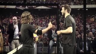 'ShowTime': Piqué y Puyol se apuntan al mejor pádel del mundo