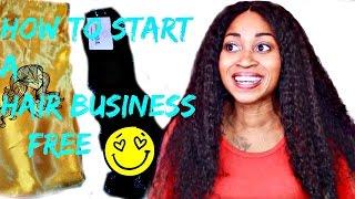 Hoe Te Beginnen met Een Hair Extensions Bedrijf GRATIS!    ☆
