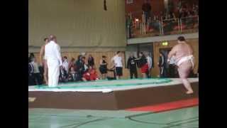 European Sumo Championships 2013 in Ponitz ...