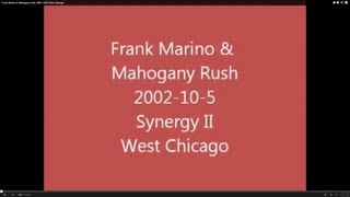 Frank Marino & Mahogany Rush 2002-10-05 West Chicago