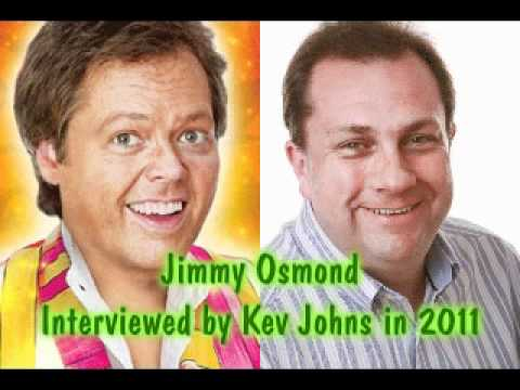 Jimmy Osmond Interview on Swansea Sound 2011 with Kev Johns