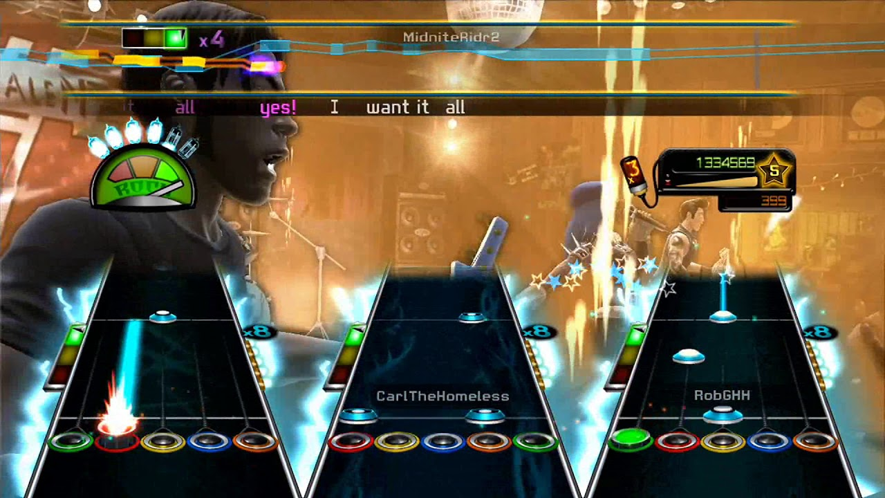 I Want It All by Queen Full Band FC #5279