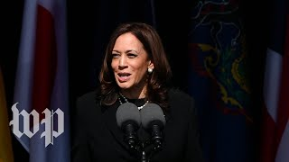 Kamala Harris: Honor Flight 93 by 'going forth to work together'