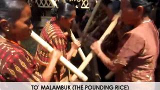 To 39 Ma 39 lambuk Pounding Rice Madandan 2015