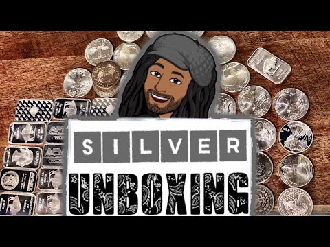 Coin shop silver unboxing