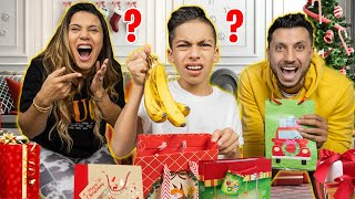 Giving Our Son BAD Christmas Presents To See His Reaction!  | The Royalty Family