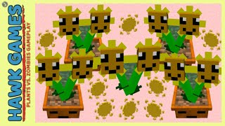 Minecraft Plants vs Zombies Twin Sunflower Mod #17
