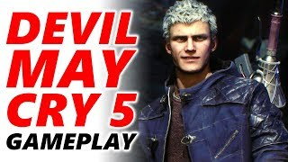 DEVIL MAY CRY 5 Gameplay