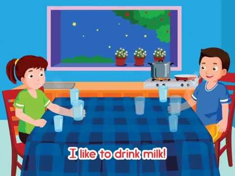 Like to drink milk Song