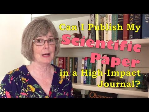Can I Publish My Scientific Paper in a High-Impact Journal?