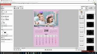 Calendario mesa vertical 12 meses 14 x 21cm