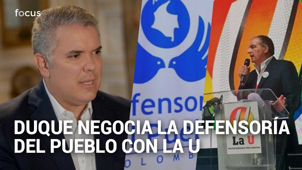 Audio que confirma que Duque negocia la Defensoría del Pueblo con La U
