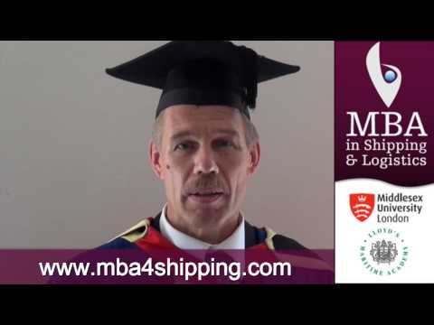 MBA in Shipping & Logistics delivered online: testimonials from previous students