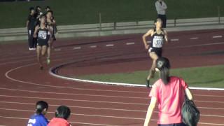 日向高校新記録!! 3000mを1組目8分30秒のペース走で走った後の 2組目(...
