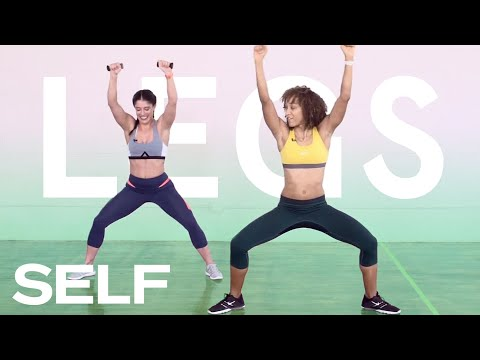 5-Move Full Workout for Abs, Legs, and Glutes 2 Levels of Difficulty   SELF Challenge