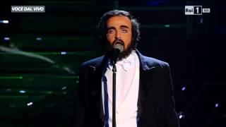"""Luciano Pavarotti - Valerio Scanu canta """"Nessun dorma"""" - Tale e Quale Show 20/11/2015"""