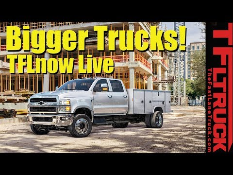2019 Chevy Silverado 6500, Smokin' Titan, and new Ford van: TFLnow (Almost) Live Show #11