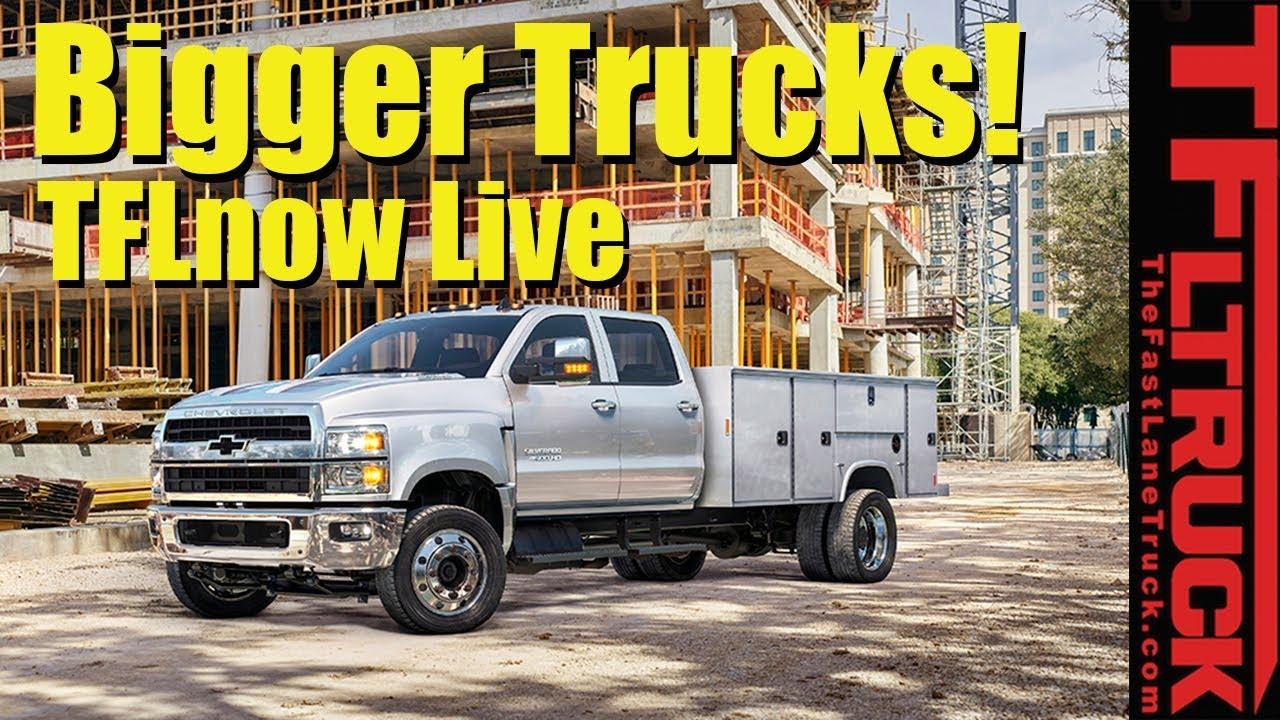 2019 Chevy Silverado 6500 Smokin Titan And New Ford Van Tflnow Almost Live Show 11
