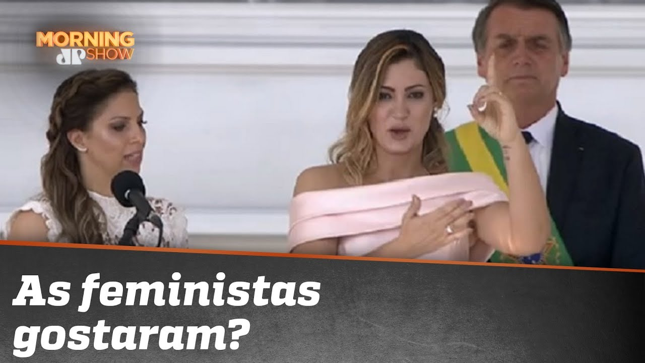 Michelle Bolsonaro brilha em posse. As feministas gostaram?