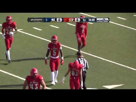Golden State Bowl - Modesto Junior College vs CCSF Football 12/1/18