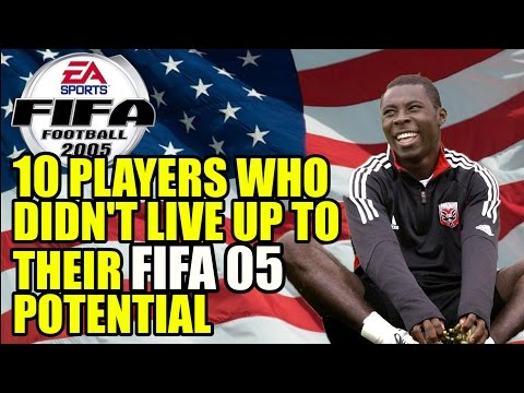 10 Players Who Didn't Live Up To Their FIFA 2005 Potential