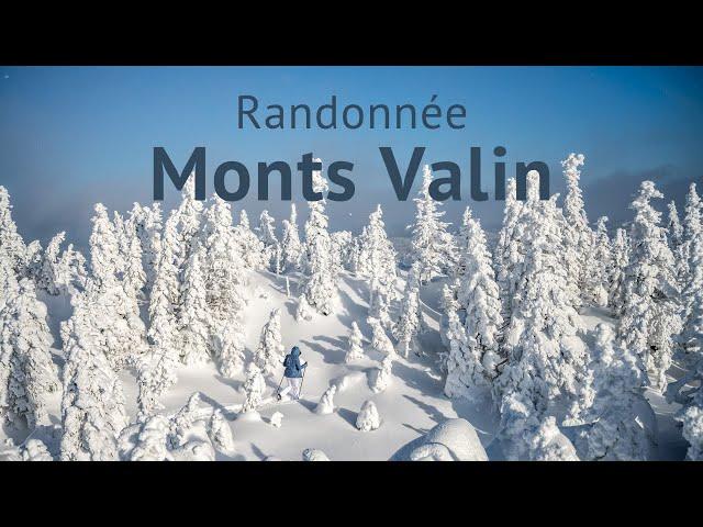 RANDONNÉE en raquette au milieu des FANTÔMES 👻 | Parc national des Monts-Valin | #QUÉBEC