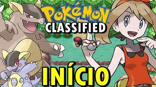 Pokémon Classified (Hack Rom - GBA) - O Início