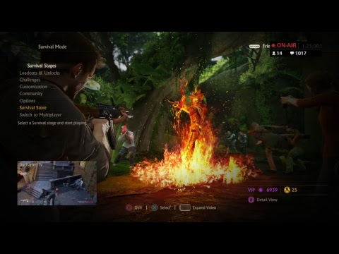 "UNCHARTED 4 SURVIVAL MODE:""WHO NEEDS HELP ON HARD! AND CRUSHING!"""