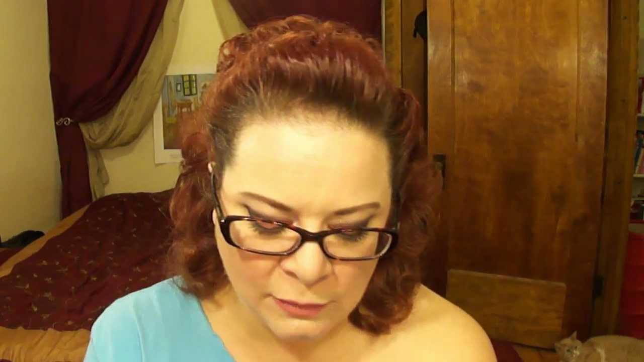 ginger rogers inspired hair tutorial youtube