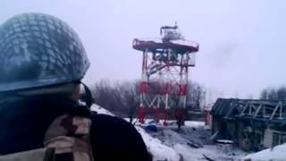 Силовики ведут бой за донецкий аэропорт, Донбасс, АТО, Украина