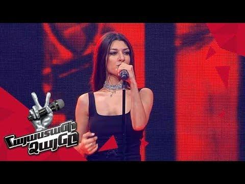 Anna Ohanjanyan sings 'Flashlight' - Blind Auditions - The Voice of Armenia - Season 4