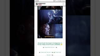 Download Avengers Endgame in hindi /very easy to downloaf