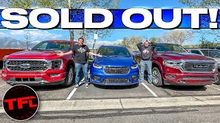 Here's Why It's Almost IMPOSSIBLE To Buy A New Or Used Car Or Truck Right Now!
