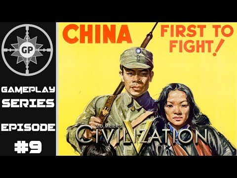 Landing on Fortress Japan - Civilization V R.E.D. WWII Edition Revived China Series #9