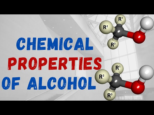 Chemical Properties and Test of Alcohols | Part 2 | Class 12 | JEE | NEET | PACE SERIES
