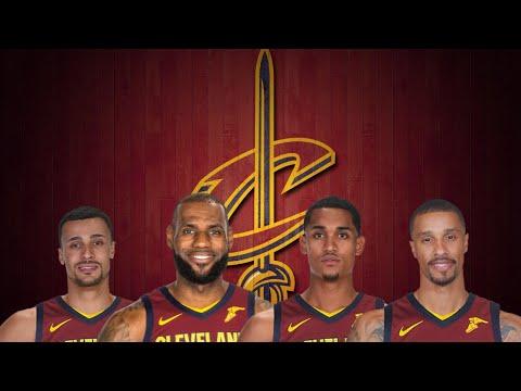 (NBA) Lebron James Loving His New Cleveland Cavaliers Teammates