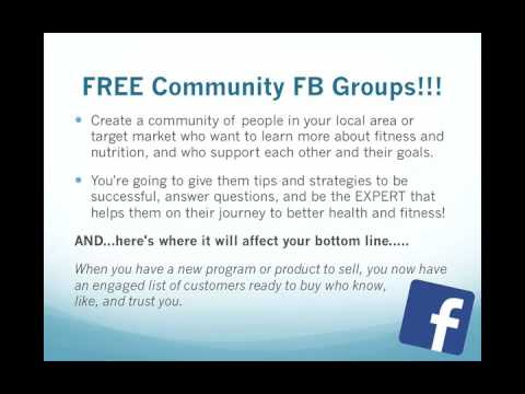 Facebook Group Training: Part 1, Video 1